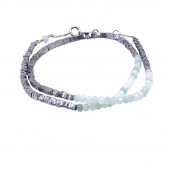 Bracelet double Myriade - Jade Nature