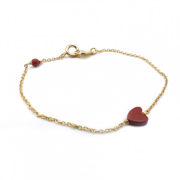LOVE BRACELET - Jaspe Rouge