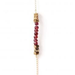 Bracelet Grenat - Myriade