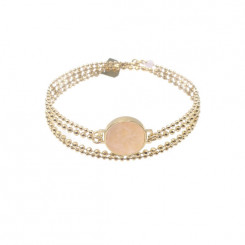 Bracelet double JanMa - Quartz Rose