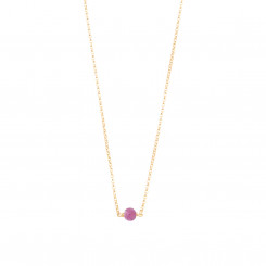 Collier Essentiel - Tourmaline Rose